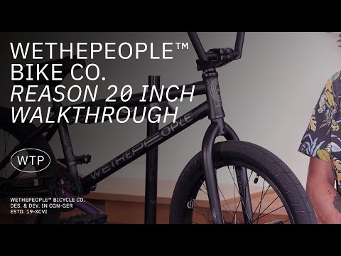 "Video WTP BMX REASON 20.75 """" 2021 Matt Blue"