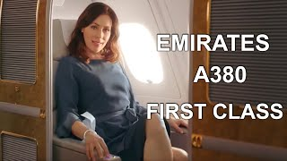 Emirates Airline A380 First Class Experience