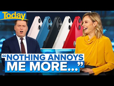 Karl reveals the one thing he hates about new Apple products | Today Show Australia