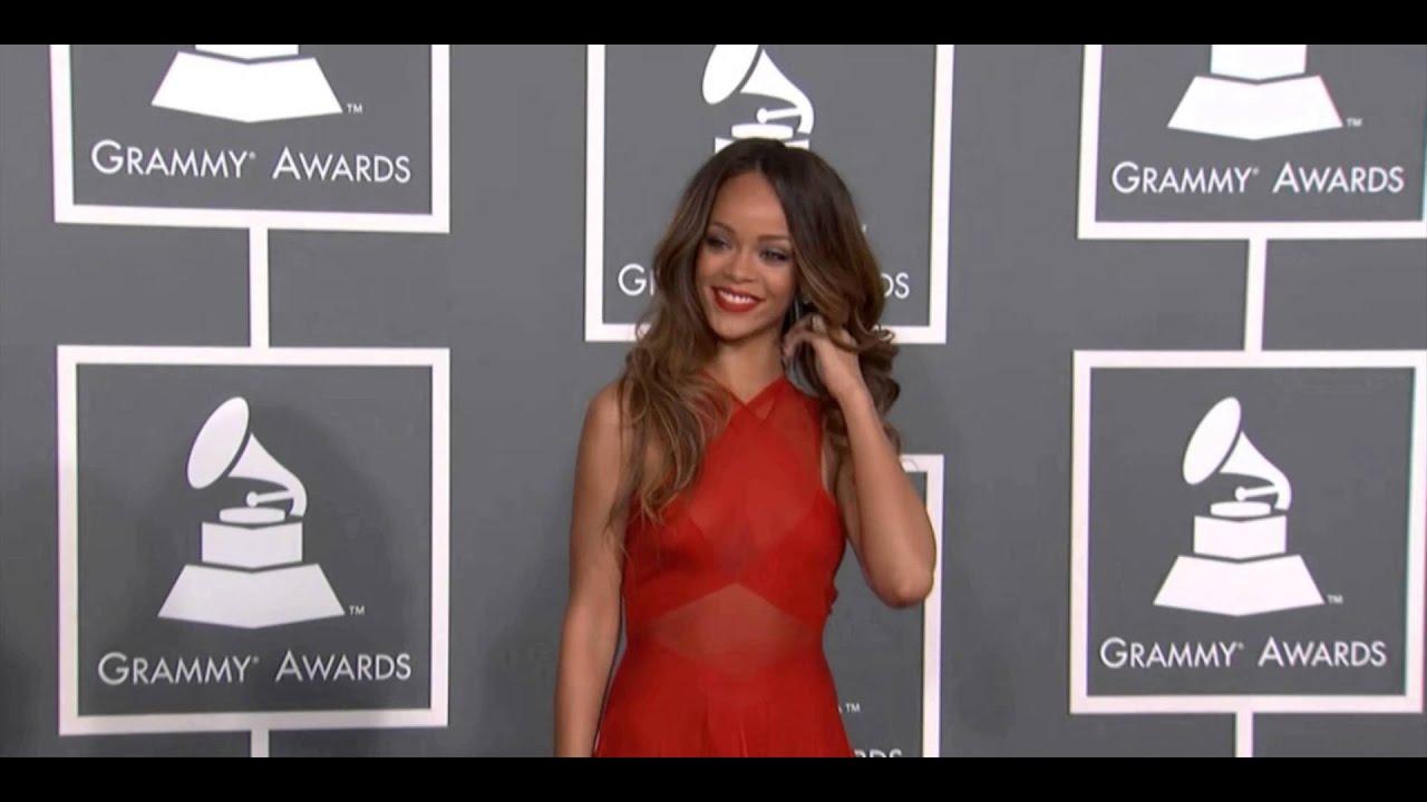 Grammys: Red Carpet Grammys 2013 (Rihanna, Alexa Chung, Alicia Keys
