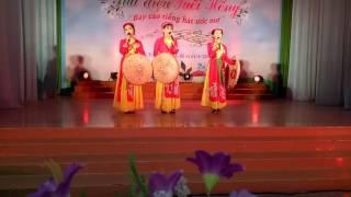 Hội thi giai điệu tuổi hồng trường thcs-thpt Tân Thạnh 2017