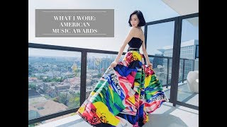 What I Wore: American Music Awards | Tiffany Young