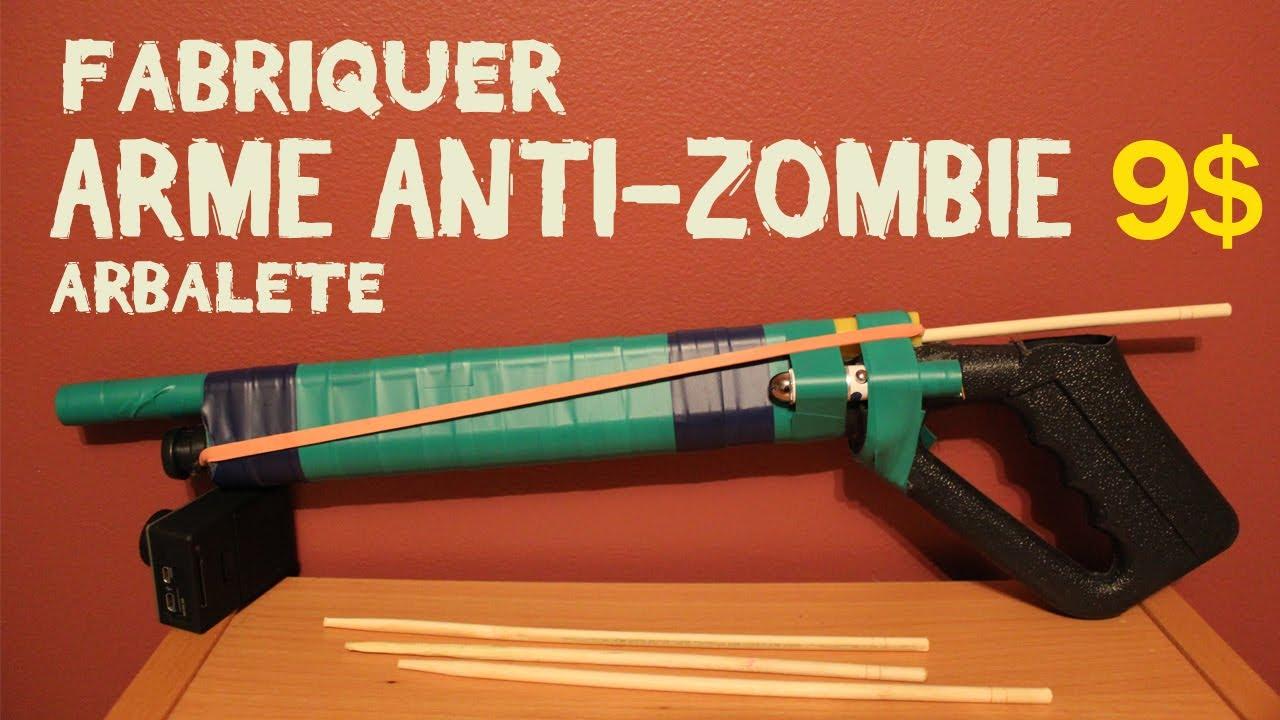 Comment fabriquer une arme anti-zombie ?