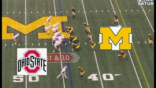 Ohio State vs Michigan 2019-2020 Football Game Highlights