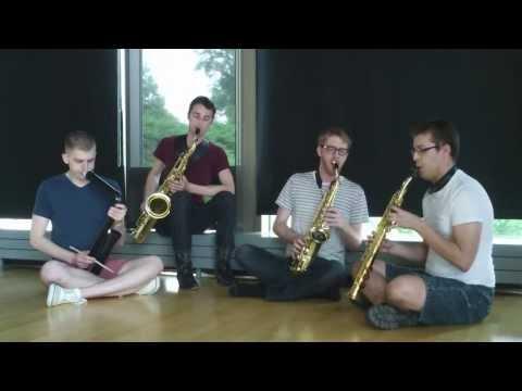 Jowok, Didjeridu and Saxophone Improvisation - the Lux Quartet