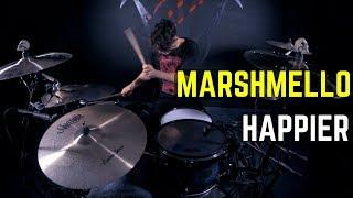 Marshmello ft. Bastille - Happier   Matt McGuire Drum Cover