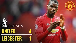 Manchester United 4-1 Leicester City (16/17) | Premier League Classics | Manchester United