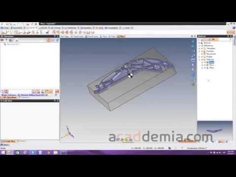 Integración CAD y CAM para Diseño y Fabricación de Moldes de Inyección en TopSolid
