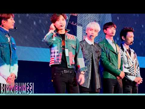 [4K] 150912 New Start 2015 talk concert_SHINee 샤이니 - Beautiful + Hello + 누난 너무 예뻐(Replay) + View