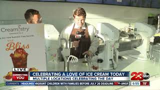 National Ice Cream Day comes to Bakersfield