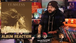 Taylor Swift   Fearless (Taylor Version)   Album Reaction - First Listen!