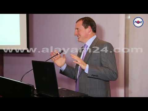سفير بريطانيا بالمغرب يتكلم اللغة العربية أمام وزير في حكومة العثماني
