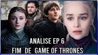 Análise do Último Episódio da 8ª Temporada de Game Of Thrones