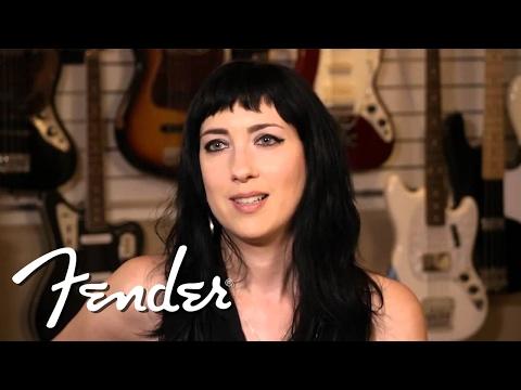 Squier Eva Gardner Signature Precision Bass