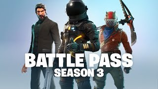Fortnite - Battle Pass Season 3 Announce