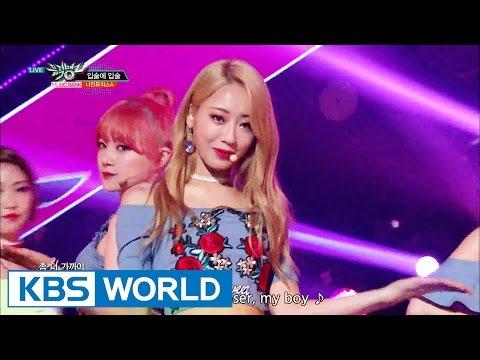 9MUSES A - Lip 2 Lip | 나인뮤지스A - 입술에 입술 [Music Bank / 2016.08.12]
