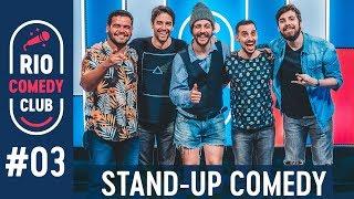 RIO COMEDY CLUB 3 - STAND-UP c/ Rafael Studart, Cézar Maracujá, Diogo Defante e Marcos Rossi