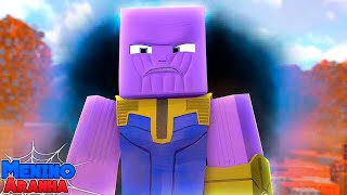 Minecraft: MENINO ARANHA - O THANOS CHEGOU!!! (GUERRA INFINITA) #210