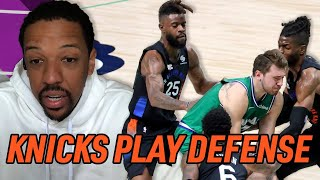"""""""No One Plays Defense In The NBA EXCEPT The Knicks"""" Channing Frye Breaks Down Knicks Success"""