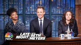 Jokes Seth Can't Tell: Wonder Woman Is Bisexual, Clown Lives Matter