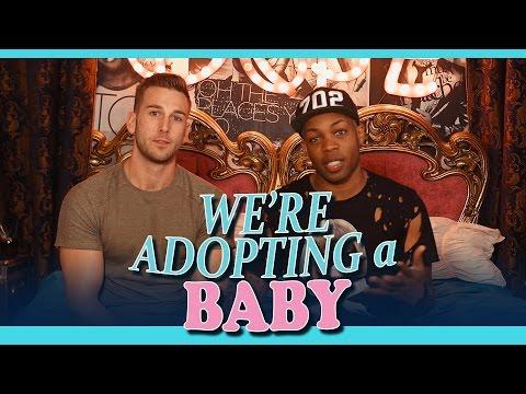 We're Adopting a Baby...