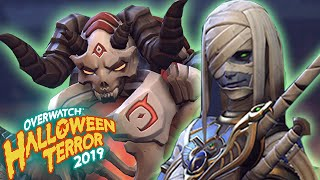 *ALL* HALLOWEEN SKINS 2019 - OVERWATCH