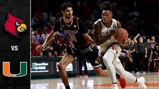 Louisville vs. Miami Basketball Highlights (2017-18)