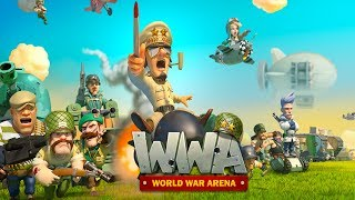 World War Arena - Android RTS Gameplay (PVP)