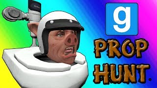 Gmod Prop Hunt Funny Moments - Panda Po-ops With Laughter (Garry's Mod)