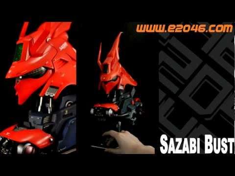 PR1736 Sazabi Bust Sample Preview