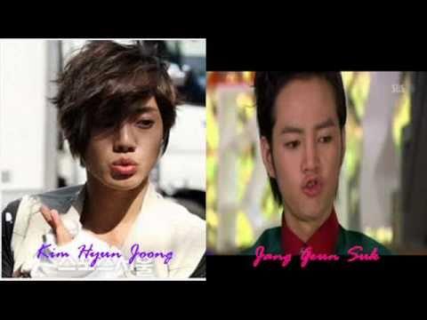 Kim Hyun Joong vs Jang Geun Suk 2