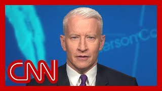 Anderson Cooper: Trump does this when he's blocked on something