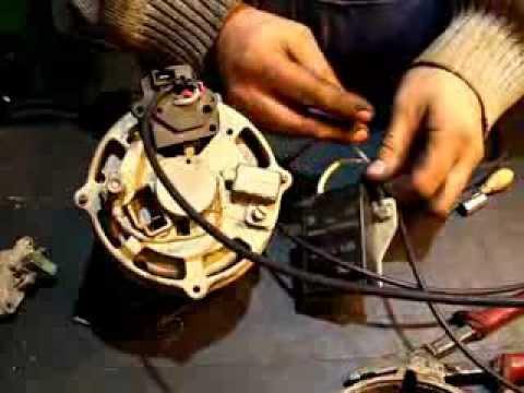 проверка снятого втягивающего реле стартера