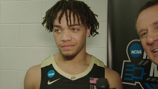 Eifert, Edwards and Painter Talk Win vs. Tennessee | Purdue | 2019 NCAA Tournament