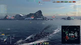 World of Warships (Replay)- Des Moines is a god