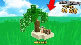 THỬ THÁCH 24 GIỜ SINH TỒN TRÊN ĐẢO A XÍT TRONG MINECRAFT (MK Gaming Minecraft)
