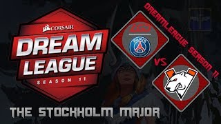 PSG.LGD vs Virtus.Pro / Bo3 / DreamLeague Season 11 Stockholm Major  / Dota 2 Live