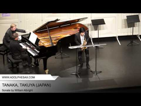 Dinant 2014 - TANAKA, Takuya (Sonate by William Albright)