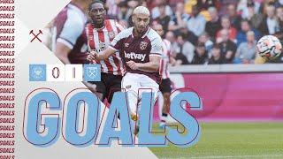 GOALS | BRENTFORD 0-1 WEST HAM UNITED