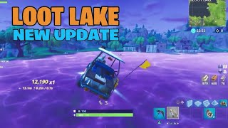 How far Will this BOUNCE In LOOT LAKE?