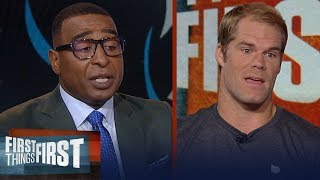Greg Olsen details how Cam elevated his game, talks Kyle Allen and more   NFL   FIRST THINGS FIRST