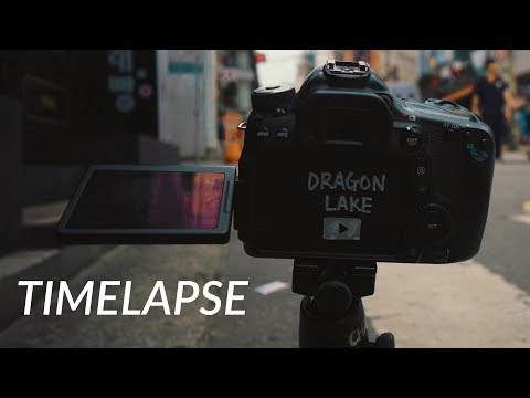 타임랩스 찍는법 (feat. Canon 70D)