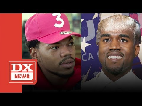 Chance The Rapper Rejects Donald Trump's Praise Of Him & Kanye West