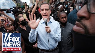 LAPD union leader blasts LA Mayor Garcetti: 'There's something wrong with him'