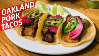 The Oakland Pork Belly Tacos with French and Chinese Influence — Cooking in America