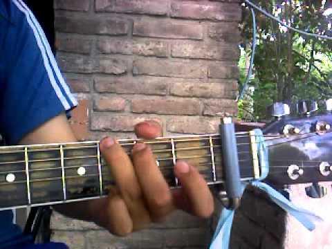 como tocar me arrepiento de alex ubago guitarra tutorial.