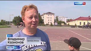 МЧС сообщает об аномальной жаре в Омске