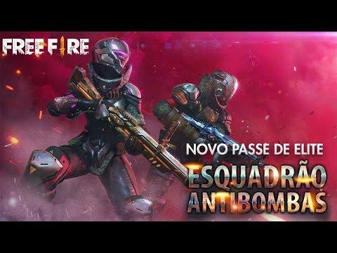 Novo Passe de Elite 9 - Fevereiro 2019 - Esquadrão Anti-Bombas