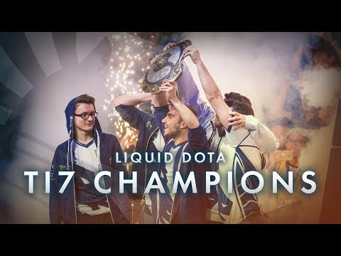 Watch Team Liquid's insane run through the losers bracket at The International to become TI7 Champions!