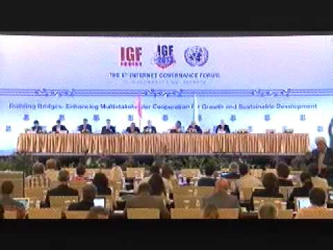 IGF2013: Taking Stock / Emerging Issues - Internet Surveillance